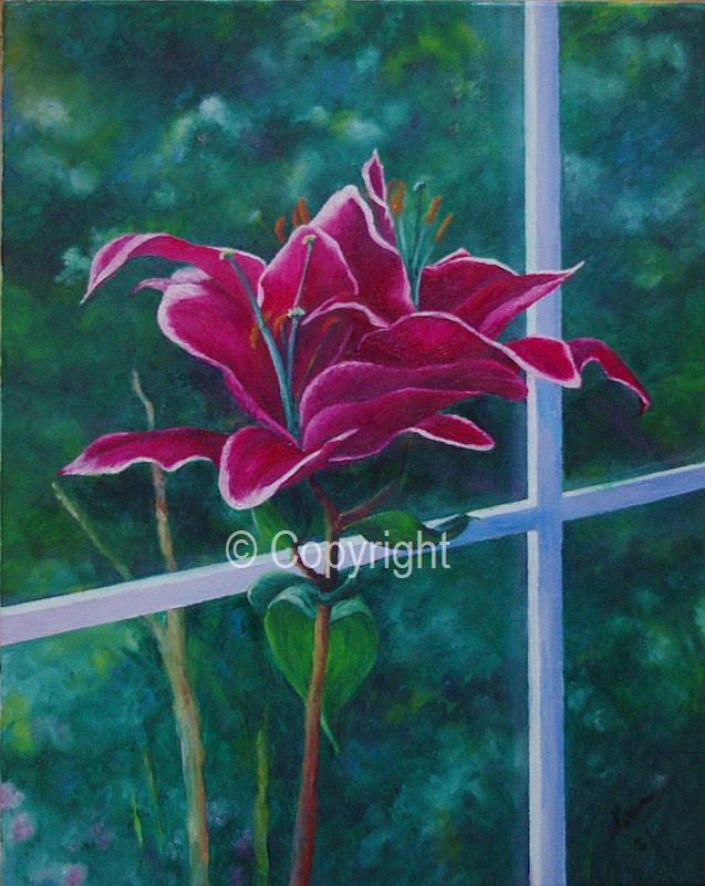 Looking Out - Sold